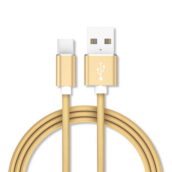 Candy Color USB Cable 2.4A Fast Data Sync Charging Cable For Samsung