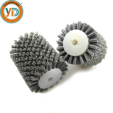 Abrasive industrial rotary clean polishing roller brush