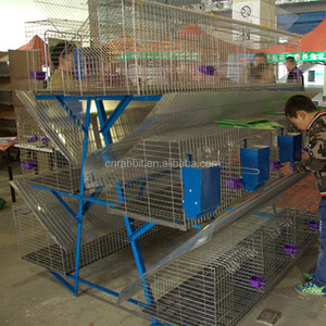 wholesale Professional easy clean 12 breeding rabbits capacity hutch/cage lapin on sale