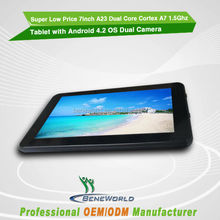 7inch Android 4.2 Tablet with HDMI