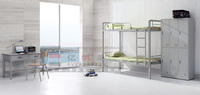 Bunk Bed Metal Bed with Table Bedroom Furniture