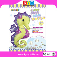 Popular 3D sea horse best christmas crafts for kids