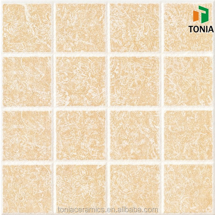 Beige Color Lowes Floor Tiles for Bathrooms Foshan Ceramic Glazed Tiles 30x30