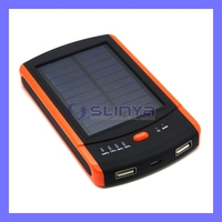 Solar Mobile Charger 6000mah Power Bank For iPhone iPad Mini 2