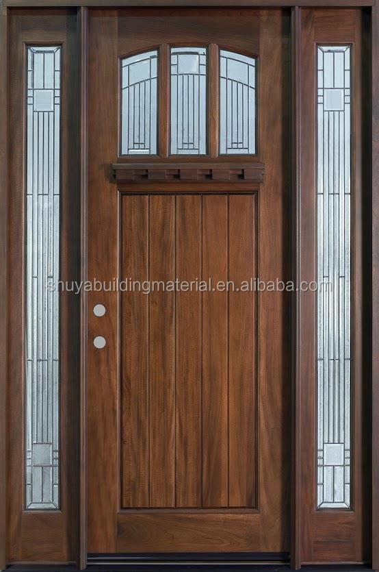Entry Doors Type and Exterior Position Custom Iron Front Door With Sidelight