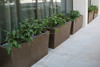 Factory sales light weight durable garden concrete planter large