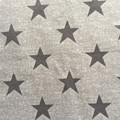paper print with stars / fashion print for sofa and cushion /100% polyester knitted fabric