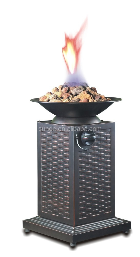 CSA & CE Approved Portable Gas Fire pit indoor