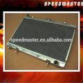 Auto aluminum radiator for N ISSAN SENRA 00-01 AT