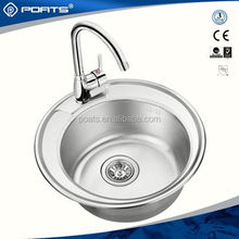 Professional manufacture factory directly custom design used commercial stainless steel sink of POATS