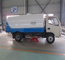 Low price movable garbage truck mini sealed dump for sale