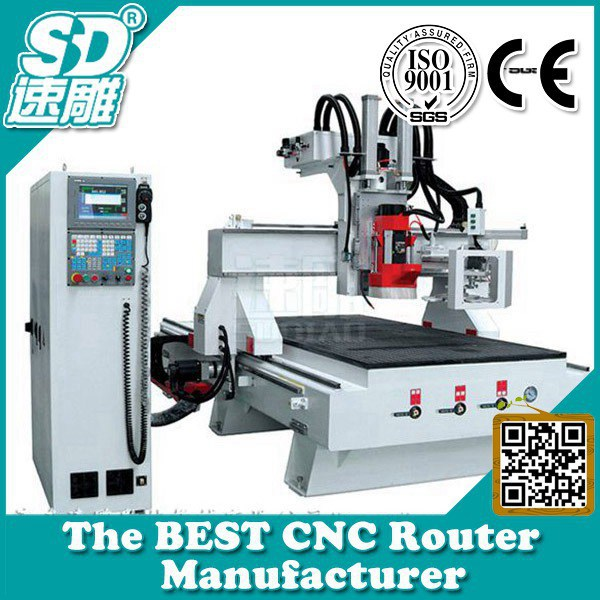 cnc woodworking machine-multifunction woodworking machine-atc cnc router machine-Circular ATC SUDIAO SD-1325 1530 2030