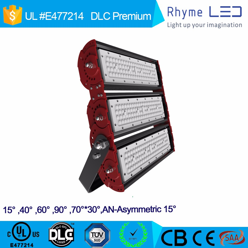 Aluminum design 200w led floodlight with high lumen court used