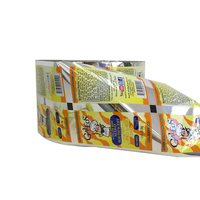 Food grade biodegradable food packaging plastic roll film/ roll laminating automated packing film for food