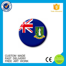 Customer Design Promotional Tin Button Badge Safety Pin