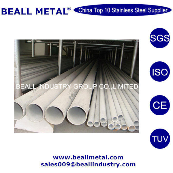 Prime Quality 34mm 38.1mm OD Stainless Steel Seamless Tube/Pipe