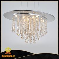 Best selling ceiling light, round decorative ceiling crystal light
