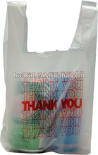 thank you carrier bags t shirt bags for shopping