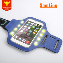 FREE SAMPLE Outdoor Accesories Universal LED Running Sport Armband for Phones