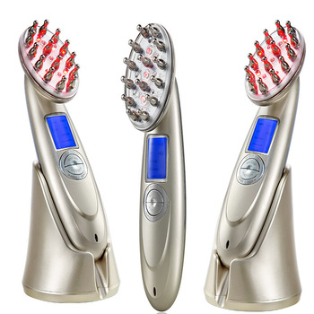 Professional laser vibrator laser hair growth comb for hair growth KD-122