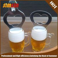 Simela Fashion Brand Acrylic Keyring Bottle Opener
