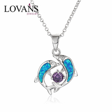 Lates Design Jewellery Artificial Bridal Wedding Dolphin Necklace Jewelry Set
