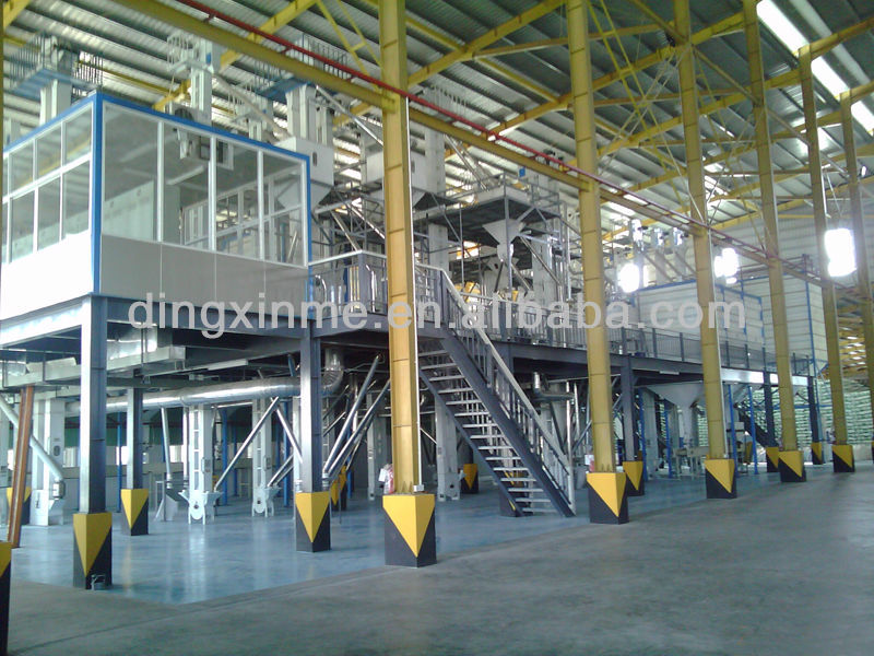 Full automatic complete sets rice mill equipment/ plant/ rice milling machine for sale