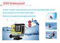 New Arrival 30M Waterproof WiFi real time transmission Action Camera