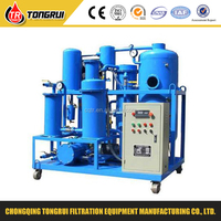 ZJD Hydraulic Oil vacuum filtration unit