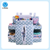 China factory Multi pockets Nursery Portable Organizer Storage Basket Bag Felt Baby Diaper Caddy