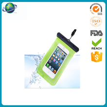 2016 new design mobile neck hanging waterproof cellphone bag