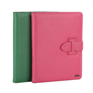Custom High Quality Leather Protective Foldable Stand Case for iPAD MINI and IPAD PRO