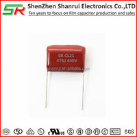 474j 400V metallized Polyester capacitor CL21 hi international dc