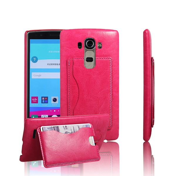 G3028 Wholesale Price PU Leather Coating Case for LG G3 , Smart Phone PC Case for LG G3