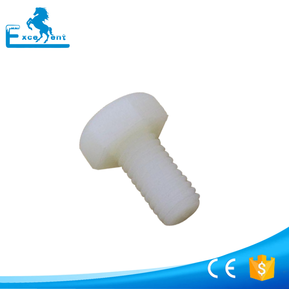 Hot selling plastic hollow hex bolt OEM