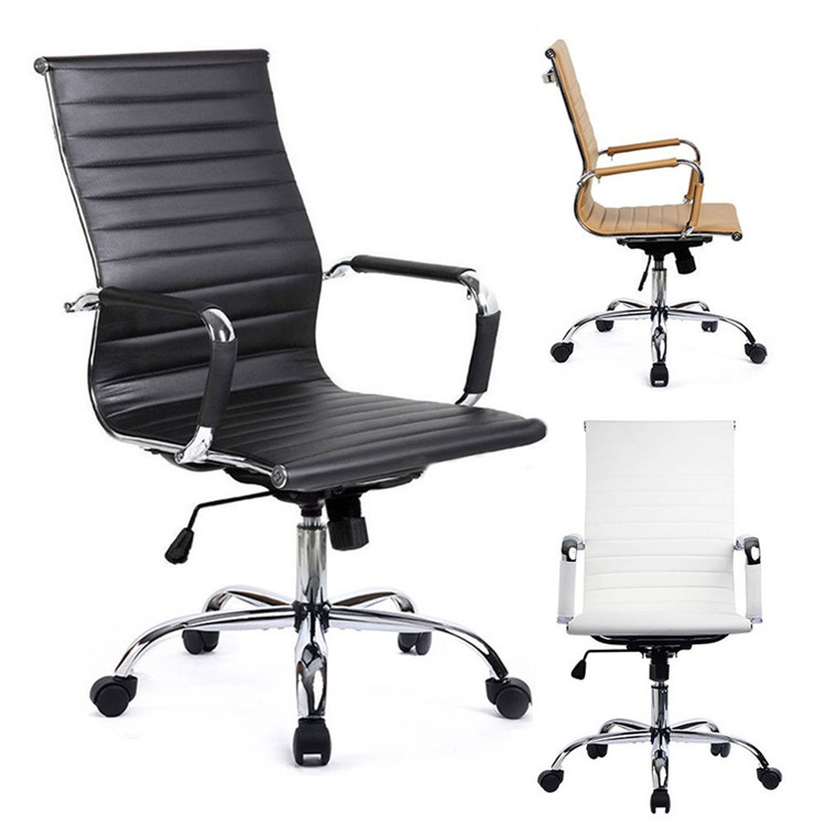 Free sample boss swivel emes revolving manager pu leather executive office chair/chair office