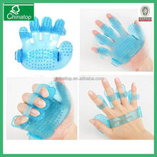 plastic body massage glove