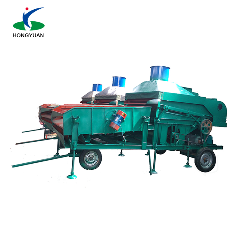 grain machine for sunflower and corn seeds grading and processing and cleaning
