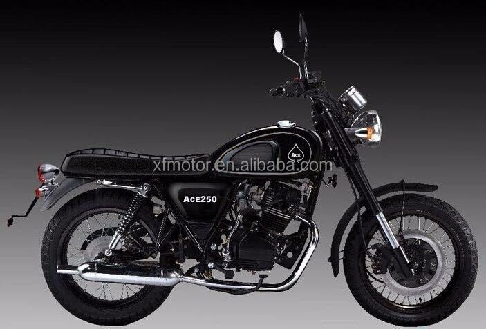 250cc retro/sports/cafe racer motorcycle