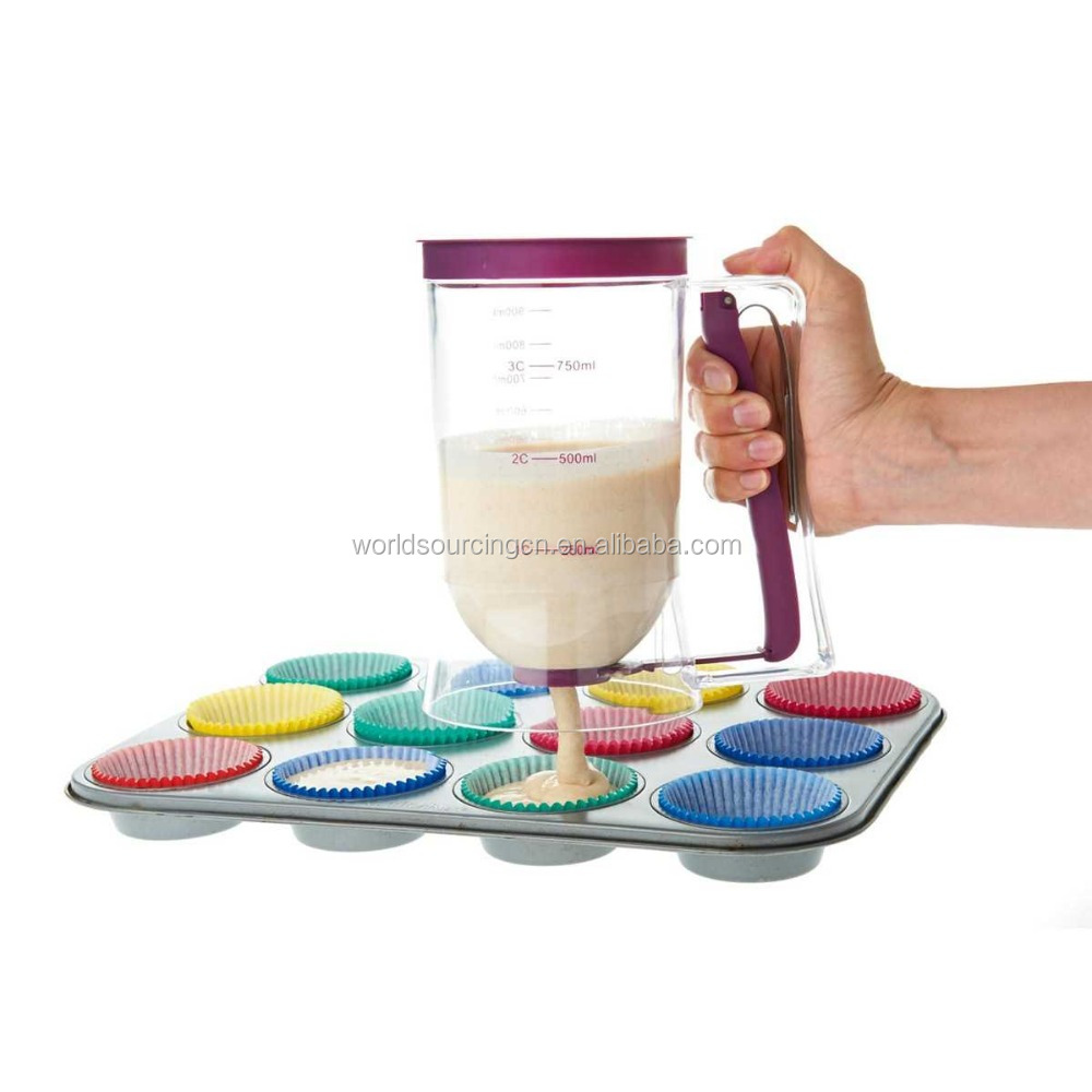 Batter Dispenser - make perfect cupcakes and crepes every time