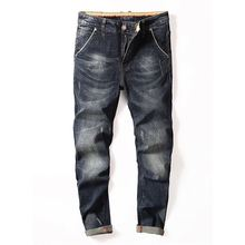 도매 China custom plus size 바지 마원단을 slim fit 망 stock damaged denim biker skinny 로 할때 겟했어요 pant 진 대 한 men