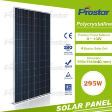 best quality well designed solar panel 295w poly solar panel Mono Solar Module