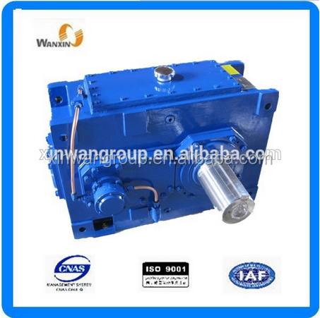 HB series industry bevel helical gear reduction gear box/HB series bevel helical gear box reducer for stone crusher equipment/HB
