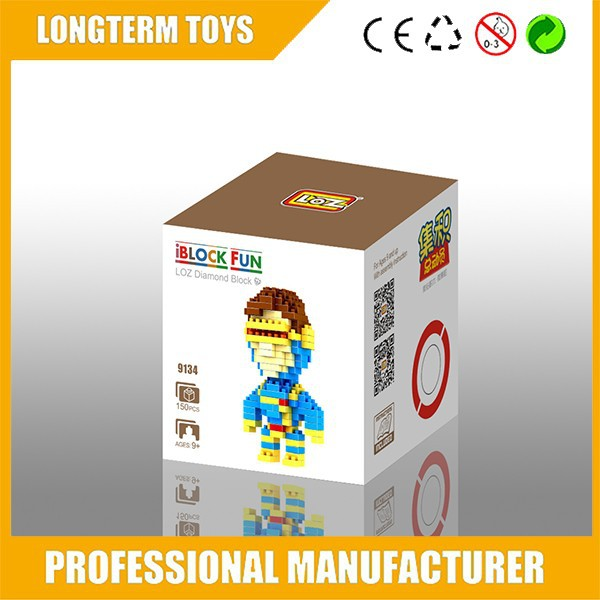 2015 DIY X-Man wange building blocks toys