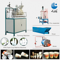 New design eps plastic cup machine