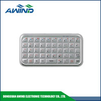 aluminum anodize keyboard for Ipad mini and smartphone