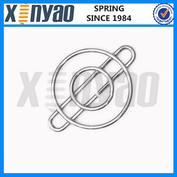Stainless steel decorative wire form