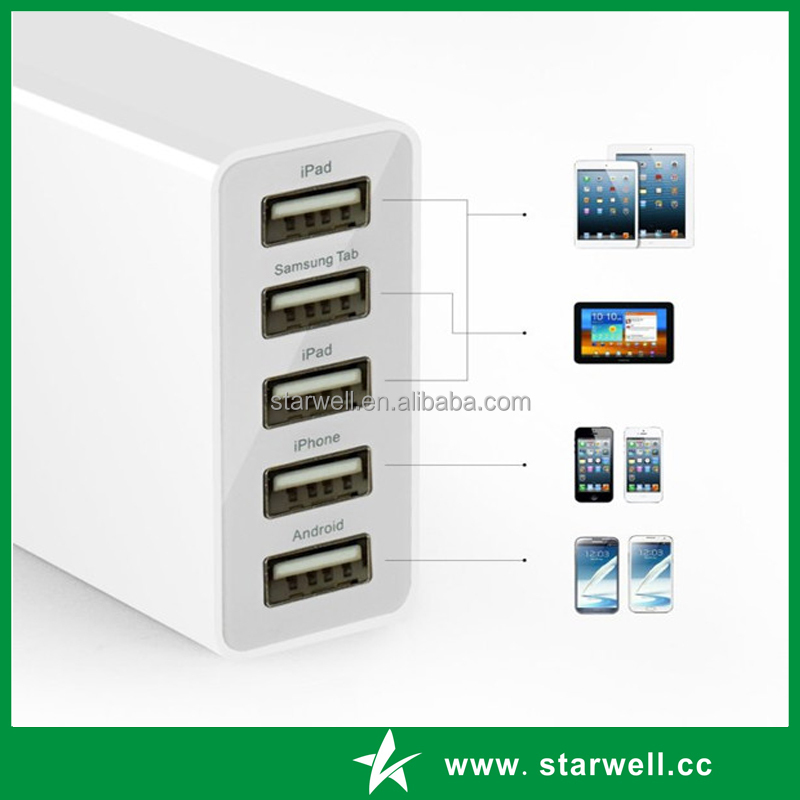 multi usb port cell phone charger