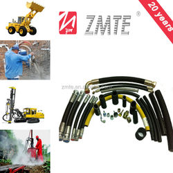 1SN hydraulic coal/mining /rubber hose in crimping machinery