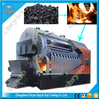 10*104kcal/h~240*104 kcal/h residential fire tube natural biomass coal fired small water boiler